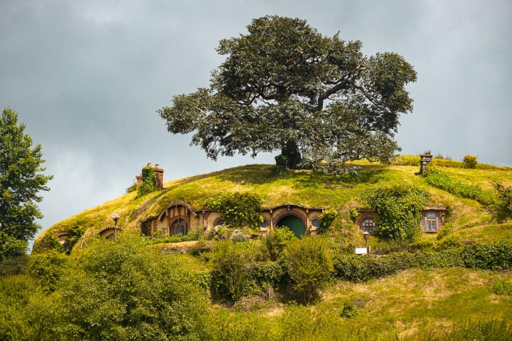 La maison du hobbit bilbon sacquet la comté